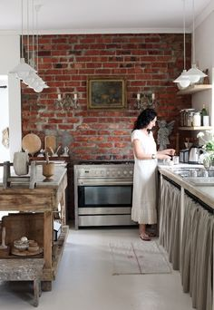 Vintage feel kitchen