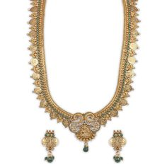 The Elegant Antique Haram Necklace By Sthrielite. www.sthrielite.in