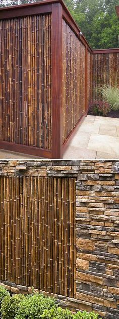 10 Garden Fence Ideas to Make Your Green Space More Beautiful  Looking for bamboo fences for your backyard? Find in this gallery.   #GardenFence #BackyardIdeas #Garden #Fence #Flower #Vegetable #Backyard #Bamboo #BambooFences