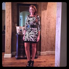 HPSALE ALERT❤️ LEOPARD PRINT TUNIC❤️ HOST PICKWhite House Black Market Leopard Tunic.  Can be worn alone or over tights. Size XS. Too little for me as shown in pics, but I loved this!!  Belt sold in separate listing. Only worn once. ✔️Suggested User ✔️️Fast Shipper ✔️High Rated Seller ✔️Discounted bundles White House Black Market Dresses