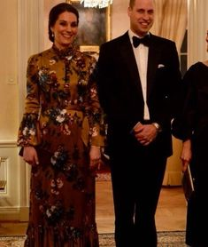 Duke and Duchess of Cambridge Prince William and Catherine concluded their first  day of Sweden tour with a black-tie dinner hosted at the UK Ambassador's Residence.