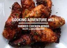 I love a good barbecue. Now, I understand a discussion of barbecue methods and traditions can spark debates as hot as a bowl of jalapenos, but I don't really care about that. I eat what's set before me, and if I find it tasty, then that's that. That being said, I love these smoky and spicy BBQ wings. It's an example of how a good rub and a good smoke can produce good eats.