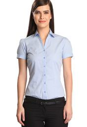 As a part of its latest collection, the noted brand Bombay High presents this stunning aqua blue shirt for fashion-conscious women. High on style, it is also soft on skin. Wear it with a pair of denims and sneakers to get that perfect look.