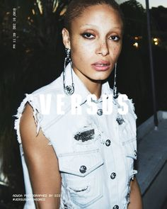 Adwoa Aboah stars in Versus Versace's spring-summer 2017 campaign