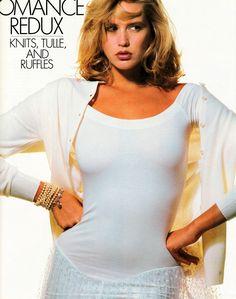 Ashley Richardson 1986 #supermodels #vintage #glamour #retro #nostalgia #1980s #1990s