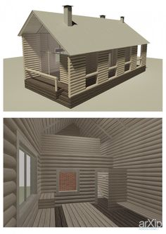 Загородный дом: архитектура, 2 эт | 6м, жилье, минимализм, 0 - 100 м2, фасад - дерево, здание, строение #architecture #2fl_6m #housing #minimalism #0_100m2 #facade_wood #highrisebuilding #structure