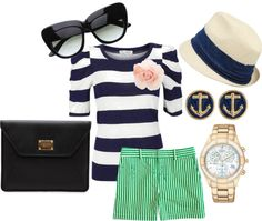Nautical theme outfit