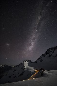 Under the Milkway,New Zealand