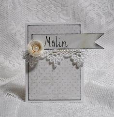 Kort & Godt Galleri: Invitasjon og bordkort til bryllup Liv, Place Cards, Table, Wedding, Ideas, Manualidades, Basteln, Valentines Day Weddings, Weddings