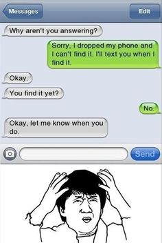 I totally want to do this to someone and I have the perfect person! humorous text messages | funny text messages