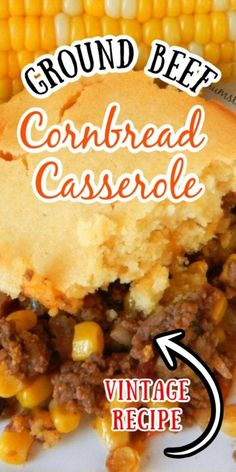Ground Beef Recipes For Dinner, Dinner Recipes, Casseroles With Ground Beef, Ground Beef Meals, Ground Beef Rice, Ground Beef Dishes, Ground Beef Recipes Easy, Ground Beef Recepies, Casseroles With Hamburger Meat