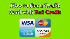 cool How to Get a Credit Card with Bad Credit | Get a Credit Card With Bad Credi