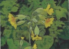 COWSLIPS - ORIGINAL PAINTING - ACEO - INK  GOUACHE £10.00