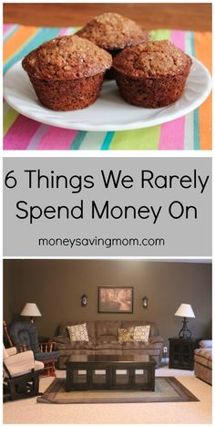 Recently, I wrote a post on 6 Things Our Family Has Chosen to Splurge On. This post was one of the most-read posts I've shared the past few months and many of you asked if I could do a follow-up post listing things we don't spend money on.  So, here's the flipside post — 6 things we rarely spend money on. #6 has especially saved us so much money!