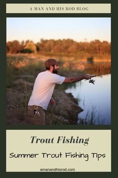 Most Effective Summer Trout Fishing Tips   A Man & His Rod Kayak Fishing Tips, Sport Fishing, Fishing Lures, Walleye Fishing, Ice Fishing, Fishing Videos, Fishing Rods, Saltwater Fishing, Trout Farm