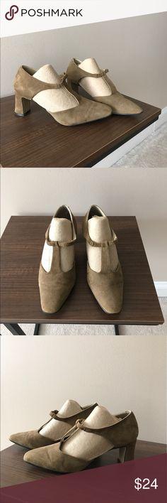 Olive green block heel Olive green block heel Shoes Heels