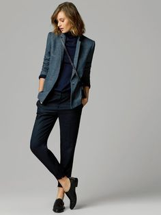 Style Tomboy Chic Clothes 33 Ideas For 2019 Casual Work Outfit Summer, Outfits Casual, Tomboy Outfits, Winter Outfits For Work, Business Casual Outfits, Tomboy Fashion, Mode Outfits, Office Outfits, Work Casual