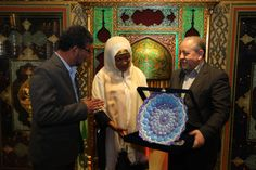 #LetsTalk #BalekaMbete meets #Iran 's Foreign Minister Mohammad Javad Zarif and Valiollah Seif to develop tourism ties with Isfahan #SouthAfrica