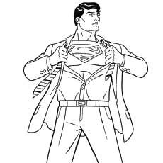 Superman Printable Coloring Pages Http