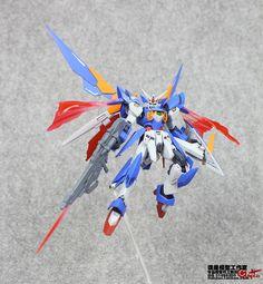 Custsom Build: HGBF 1/144 Gundam Fenice Rinascita | NGS BLOG