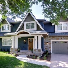 Helpful in choosing exterior paint colors for your home.