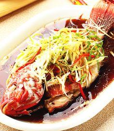 清蒸鮮魚(1)::食譜