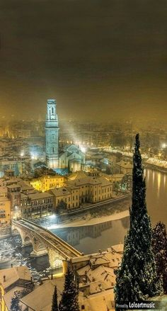 Verona ~ is a city straddling the Adige River in Veneto, northern Italy.
