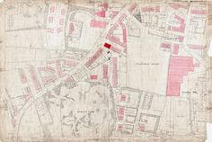 Old Ordnance Survey Map 217-6-5 Pudsey, Farsley and Stanningley, Yorkshire in 1891