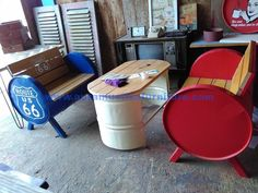 Exceptional Dream cars photos are available on our site. Car Furniture, Barrel Furniture, Recycled Furniture, Industrial Furniture, Custom Furniture, Furniture Design, Barrel Projects, Metal Projects, Welding Projects