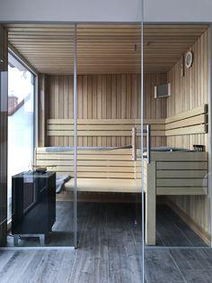 Sauna nach Maß mit Blick in die Landschaft