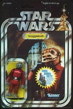 Kenner Star Wars Figure - Snaggletooth