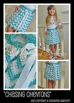 Ravelry: Chasing Chevrons Skirt pattern by Jennifer Pionk