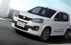 Fiat revela novo visual do Uno, que chega em setembro