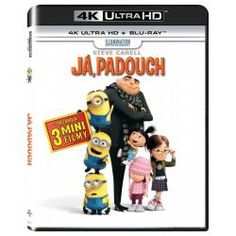 Despicable Me [Includes Digital Copy] [UltraViolet] Ultra HD Blu-ray] Discs] 2010 - Larger Front Crime Of The Century, Despicable Me 3, Orphan Girl, Greatest Villains, Russell Brand, Steve Carell, Universal Orlando, 4k Uhd, Disney Inspired