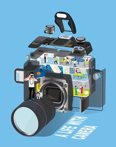 A life with camera on Behance