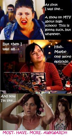 Love Awkward way too much!!!!!!!