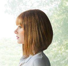Bryce Dallas Howard, New Haircuts, Bob Hairstyles, Bad Hair, Hair Day, Beautiful Actresses, Beautiful Celebrities, Medium Hair Styles, Short Hair Styles
