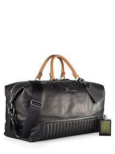Quilted Leather Duffel Bag - Ralph Lauren Duffel Bags - RalphLauren.com
