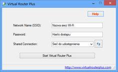 Przy pomocy tego programu udostępnisz dowolną sieć internet w komputerze osobistym wszystkim urządzeniom, które obsługują bezprzewodową transmisję danych Wi-Fi. Sieć Wi-Fi może też pełnić funkcję szybkiej wymiany danych między urządzeniami. Konfiguracja udostępnienia sieci została wykonana tak, aby zrobić to szybko i łatwo. Transmisja danych jest zabezpieczona za pomocą klucza WPA2...