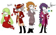 Genial Lapidot, Fnaf 5, Hamilton, Dc Super Hero Girls, Different Art Styles, Bestest Friend, Kawaii, Fanart, Cute Stories