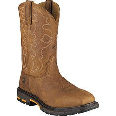 Men's+Ariat+Workhog™+Wide+Square+Steel+Toe+Boot+-+Rugged+Bark+Full+Grain+Leather+with+FREE+Shipping+&+Exchanges.+WorkHog™+takes+comfort+and+support+to+a+new+level.+Ariat's+ATS+