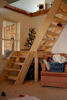 20 amazing loft stair for tiny house ideas