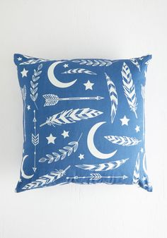 Aim for the Moon Pillow | Mod Retro Vintage Decor Accessories | ModCloth.com