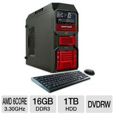 Computer Deals CybertronPC AMD A6 1TB HDD 16GB DDR3 Gaming PC  999.99    Computer Deals 6915d71d6