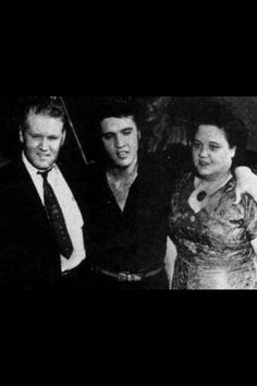 "Vernon, Elvis And Gladys ❤️/""Homecoming Concert at the Tupelo Fairgrounds in…"