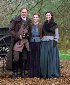 the Fraser's 😍⚔️♥️⚔️♥️ Diana Gabaldon Outlander Series, Outlander Casting, Outlander Tv Series, Starz Outlander, Claire Fraser, Jamie Fraser, True Blood, White Collar, Buffy