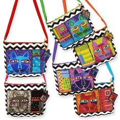 Tracolle gattose di Laurel Burch www.gattosi.com