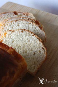 Gourmandise pão de manteiga com fermento natural