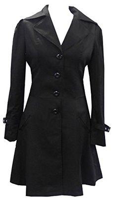 Black - Classic Cotton Victorian Gothic Steam Punk Corset Riding Jacket Coat Size 14-16 DangerousFX http://www.amazon.com/dp/B004344SKC/ref=cm_sw_r_pi_dp_FssSvb0XME88J