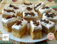 Isteni szelet Hungarian Desserts, Eat Pray Love, Penne, Tiramisu, Cheesecake, Dessert Recipes, Cooking Recipes, Snacks, Baking